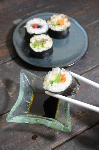 Coconut & Pineapple Sushi Rice