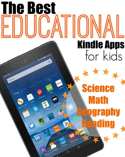 Best Educational Kindle Apps For Kids