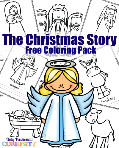 The Christmas Story Coloring Pack