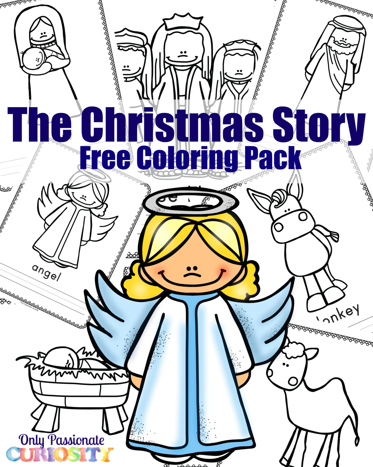 Nativity Coloring Pack