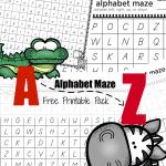 Alphabet Maze Pack