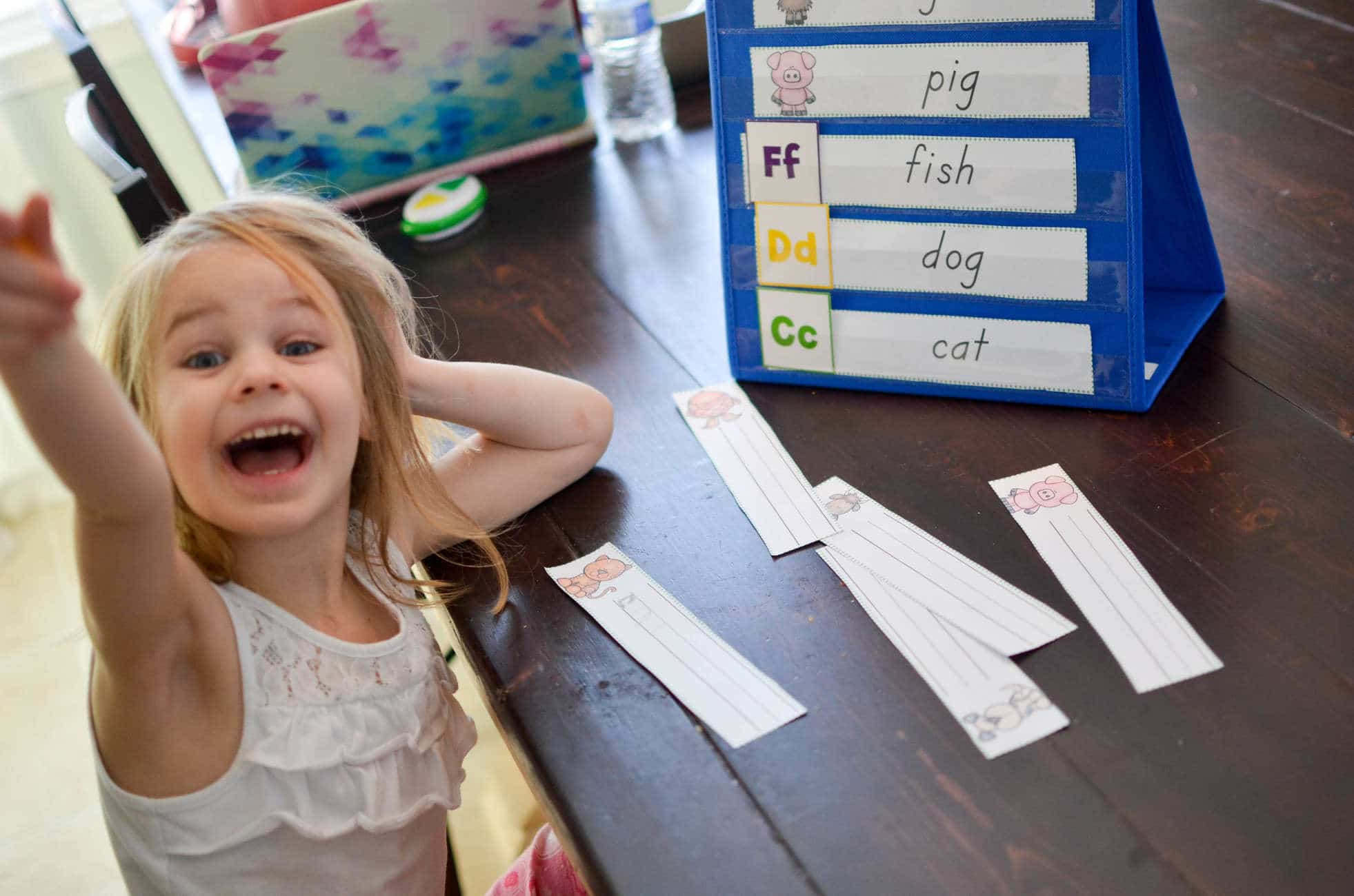ABC Animals Read and Write Center {ABCs for Me}