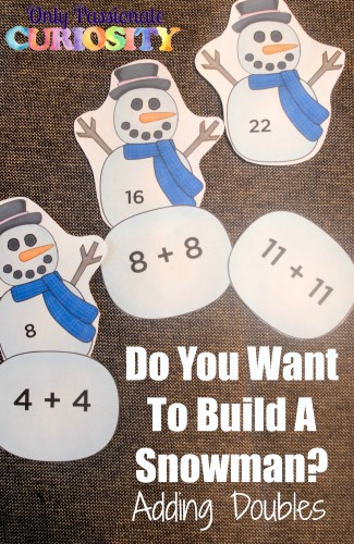graphic regarding Do You Want to Build a Snowman Printable named Do On your own Need toward Develop a Snowman Printable Math Information and facts - Basically