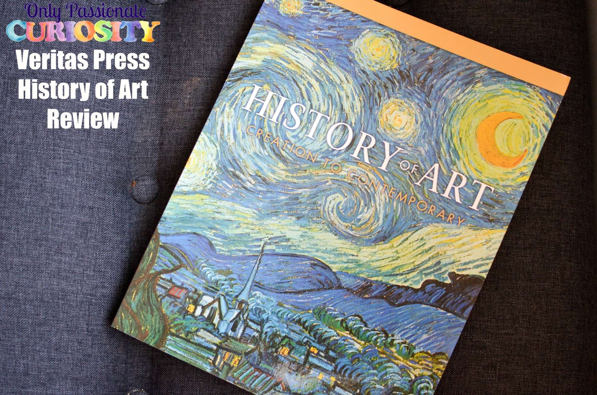 Veritas Press: History of Art {Review}