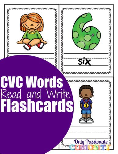 I read and write flashcards