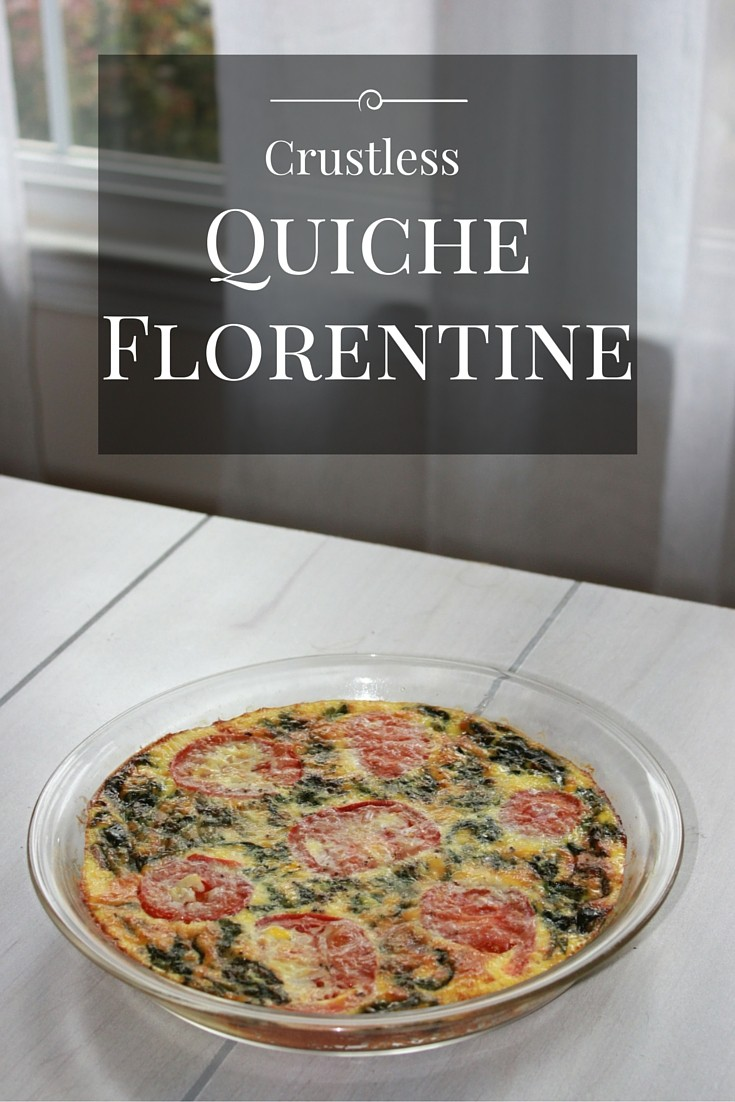 Healthy and Delicious Crustless Quiche Florentine