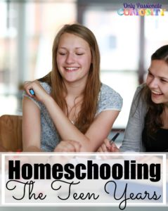 Homeschool Teen