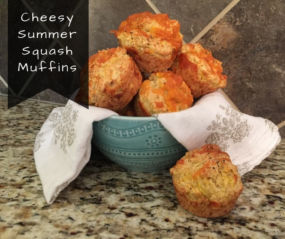 Cheesy Summer Squash Muffins