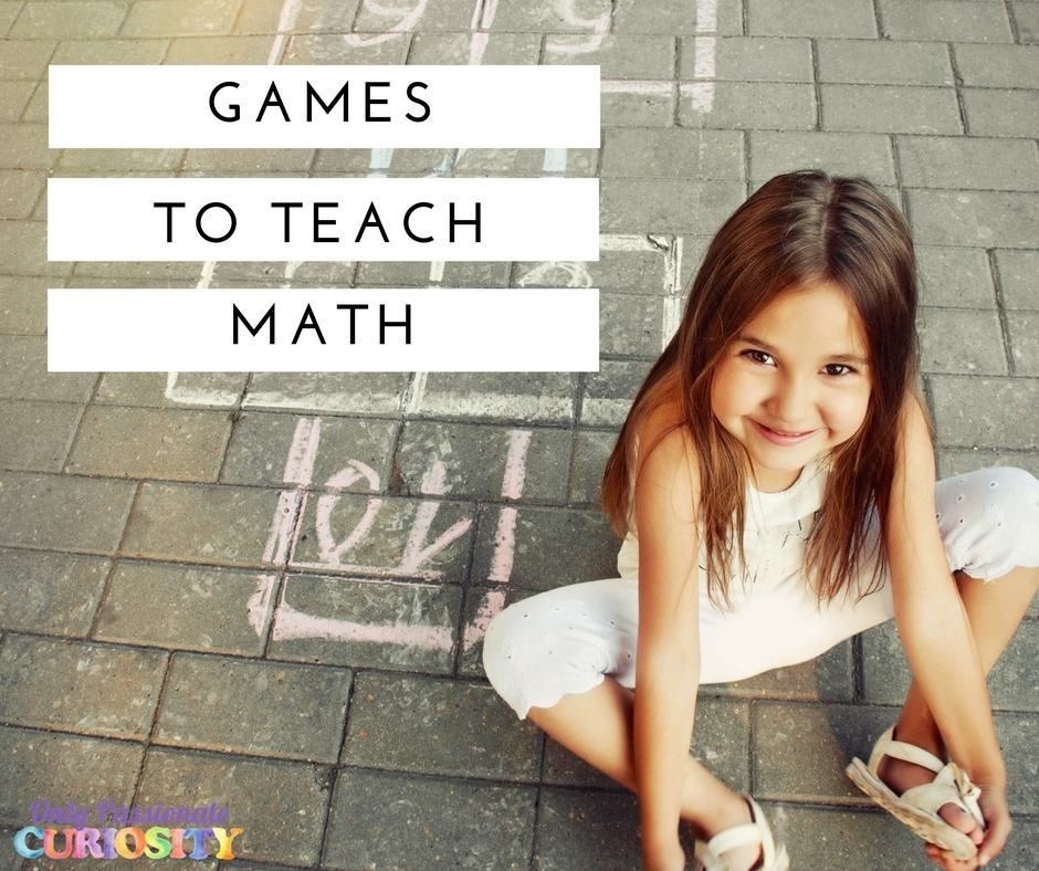 Re-imagining Math: Games to Bring Math Alive