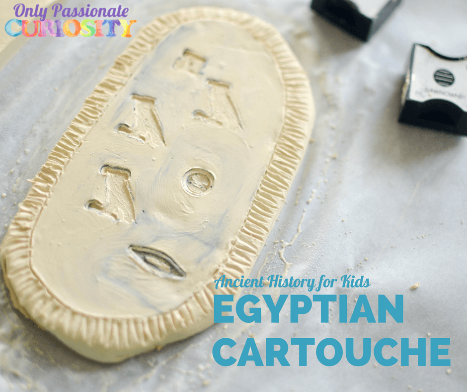 Ancient Egypt for Kids: Create a Cartouche
