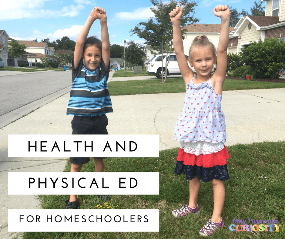 Health and PE for Homeschoolers {Printable Nutrition Game}