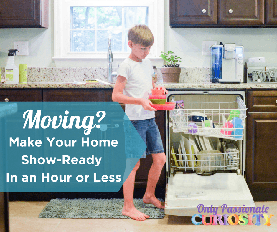 Moving? How to Get Your House Show-Ready in an Hour