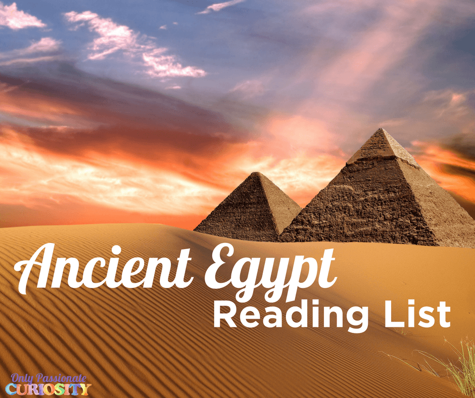 Learning about Ancient Egypt {A Book List}