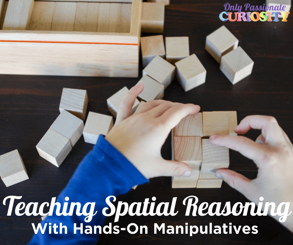 Teaching Spatial Reasoning with Manipulatives