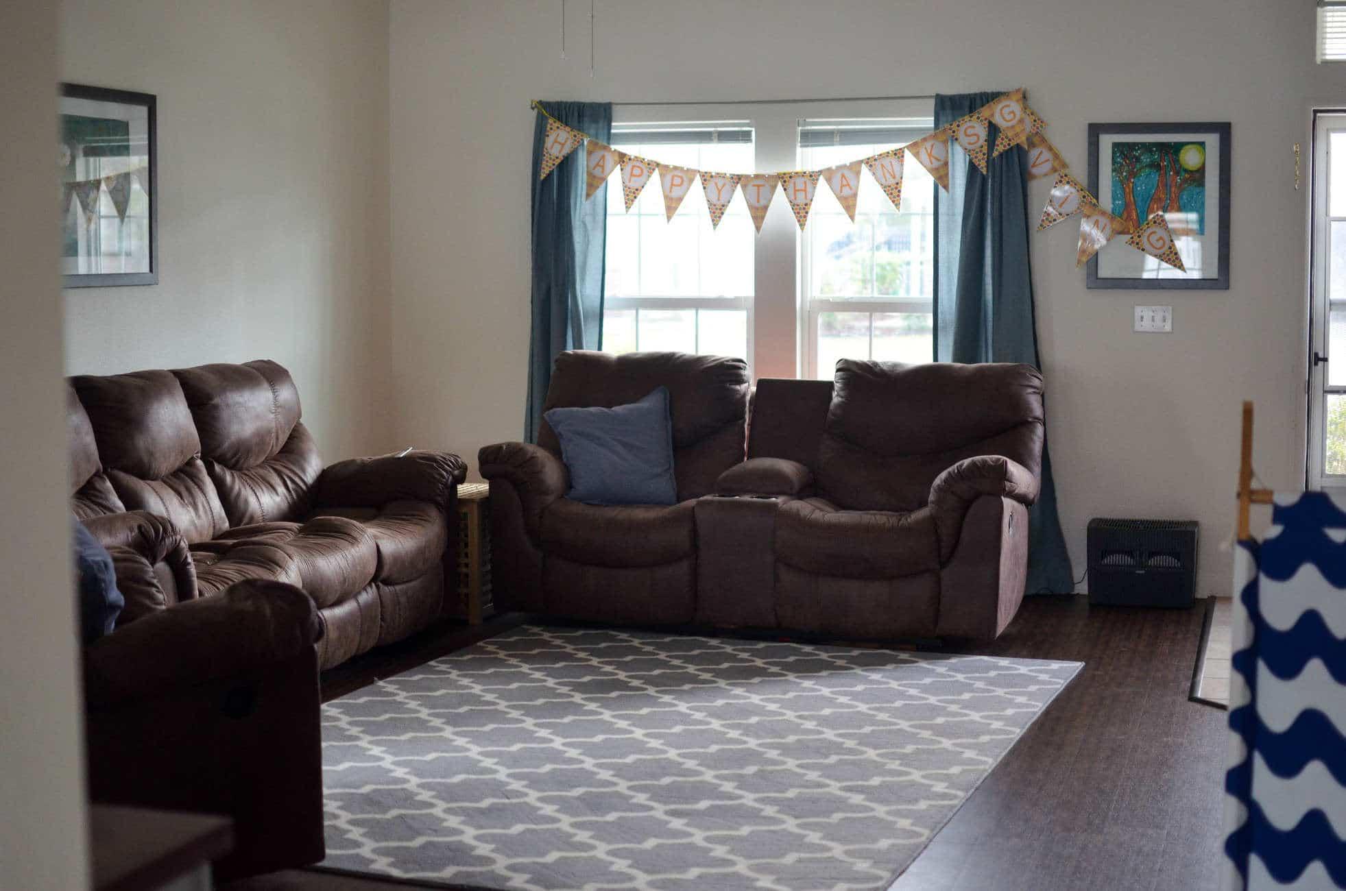 Making a House a Home {Military Housing Home Tour}