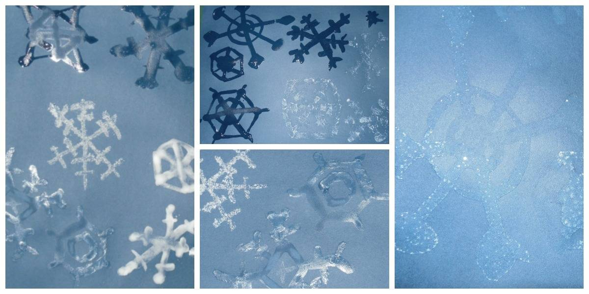 snowflake_collage