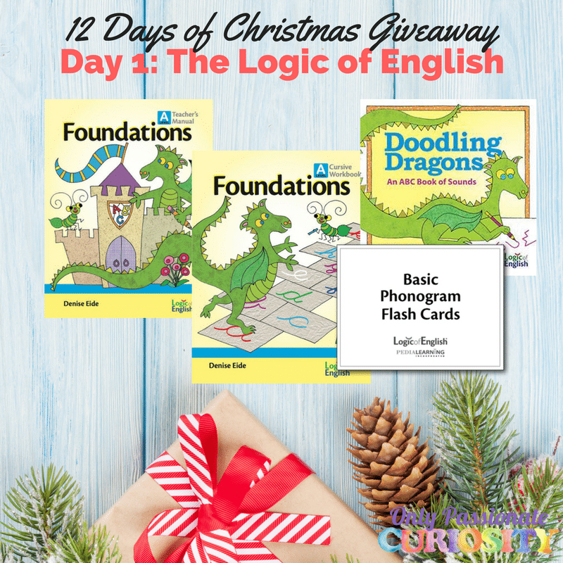 sweepstakes logic 12 days of christmas logic of english giveaway 8898