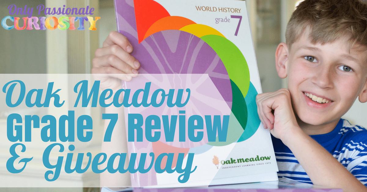 Oak Meadow Grade Seven Review