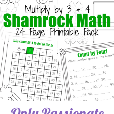 Shamrock Math Times Tables Printables