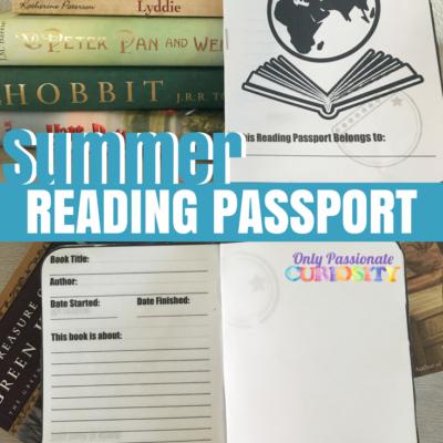 Printable Summer Reading Passport