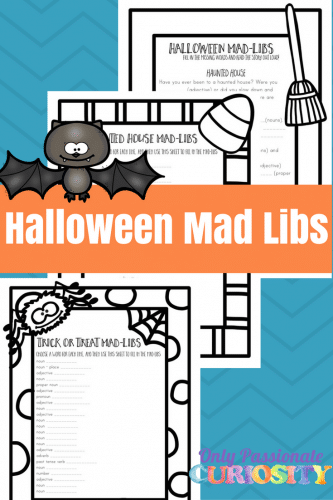 Halloween Mad Libs – Only Passionate Curiosity