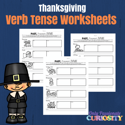 Thanksgiving Verb Tense Writing Worksheets Only Passionate Curiosity. This Worksheet Pack Goes Really Well With Our Thanksgiving Verb Read And Write Get Both In Shop Today. Worksheet. Verb Tenses Exercises Worksheet At Clickcart.co