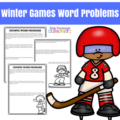 Winter Games Word Problems