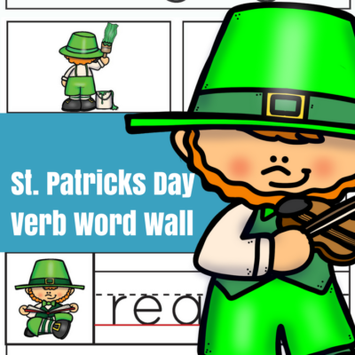 St. Patrick's Day Verbs Word Wall