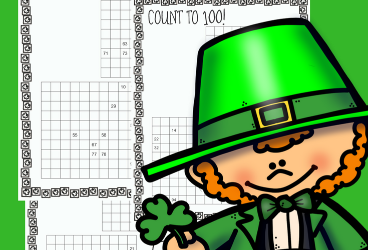 St. Patrick's Day Hundreds Charts