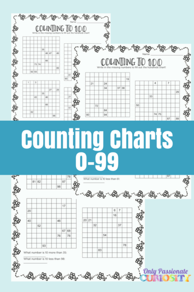 Hundreds Chart that Starts with 0