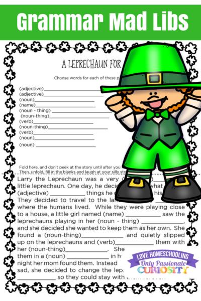 St. Patrick's Fun Printables
