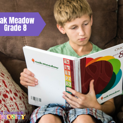 Oak Meadow Grade Eight {Review}