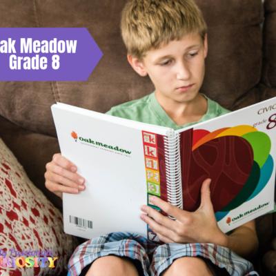 Oak Meadow Grade Eight {Review}