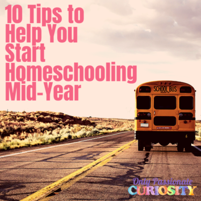 How to start homeschooling in the middle of the school year