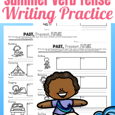 Summer Verb Tense Writing Pack