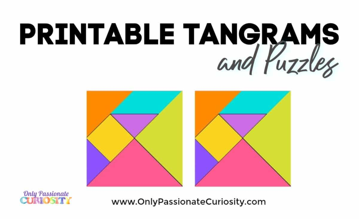 graphic regarding Printable Tangrams identify Tangrams - Basically Pionate Interest