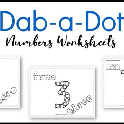 Dab-a-Dot Number Practice: 0 – 10