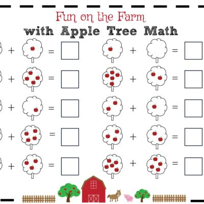Fun on the Farm with Apple Tree Math