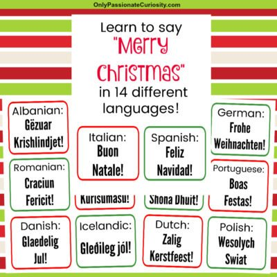 How to Say Merry Christmas in 14 Languages!