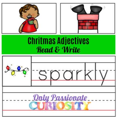 Christmas Adjectives Word Wall