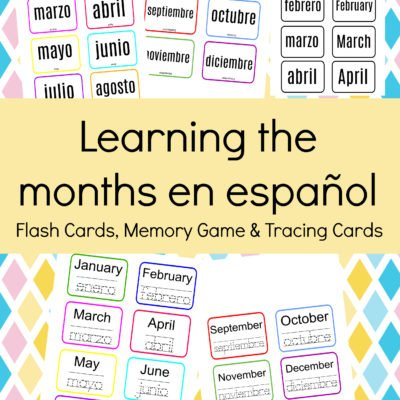 Learning the Months in Spanish